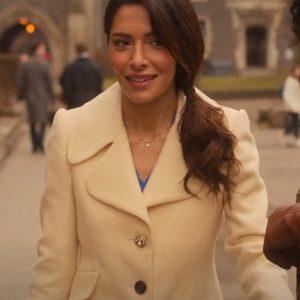 Sexlife Sarah Shahi Coat