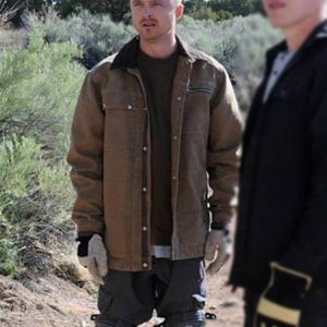 TV Series Breaking Bad Aaron Paul Brown Cotton Jacket