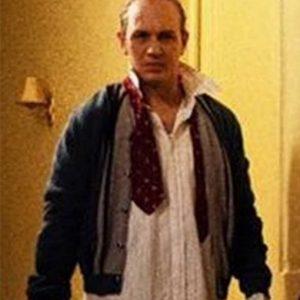 Tom Hardy Capone Bomber Leather Jacket