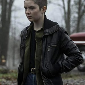 Lachlan Watson TV Series Chilling Adventures of Sabrina Black Leather Jacket