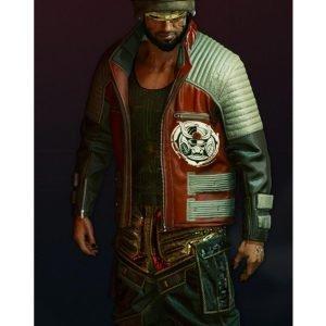 Cyberpunk 2077 Second Conflict Biker Leather Jacket