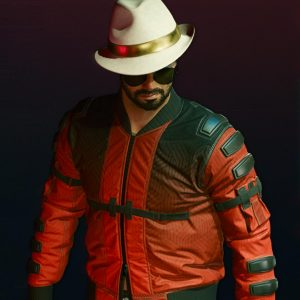 Johnny Silverhand Red Bomber Second Conflict Flight Cyberpunk 2077 Jacket