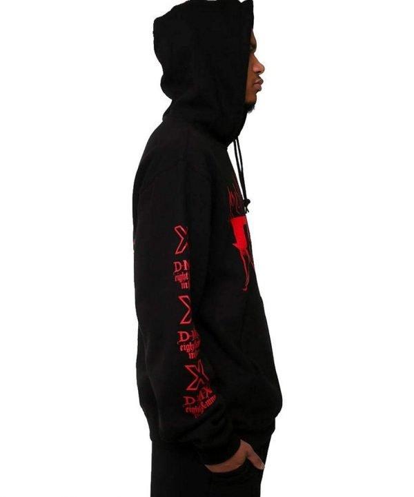 DMX Let Me Fly Black Sweatshirt