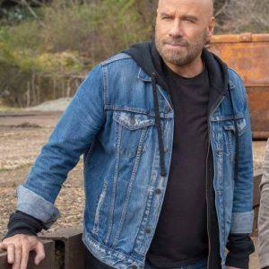 Ron Wilcox TV Series Die Hart Blue Denim Jacket