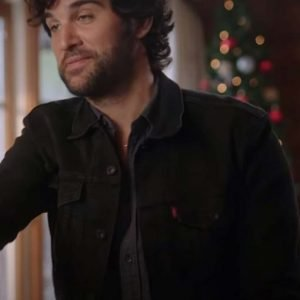 Dashing in December Heath Ramos Black Jacket