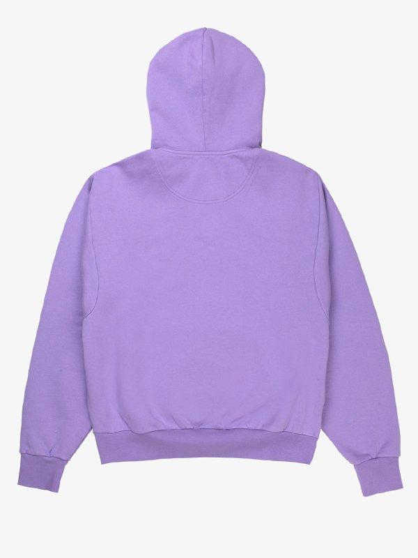London-Stroll-Emma-Corrin-Purple-Hoodie