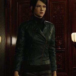 jona-xiao-resident-evil-infinite-darkness-shen-may-black-leather-jacket