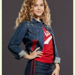 Brec Bassinger TV Series Stargirl S02 Blue Denim Jacket