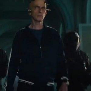 Thinker Peter Capaldi The Suicide Squad Bomber Jacket