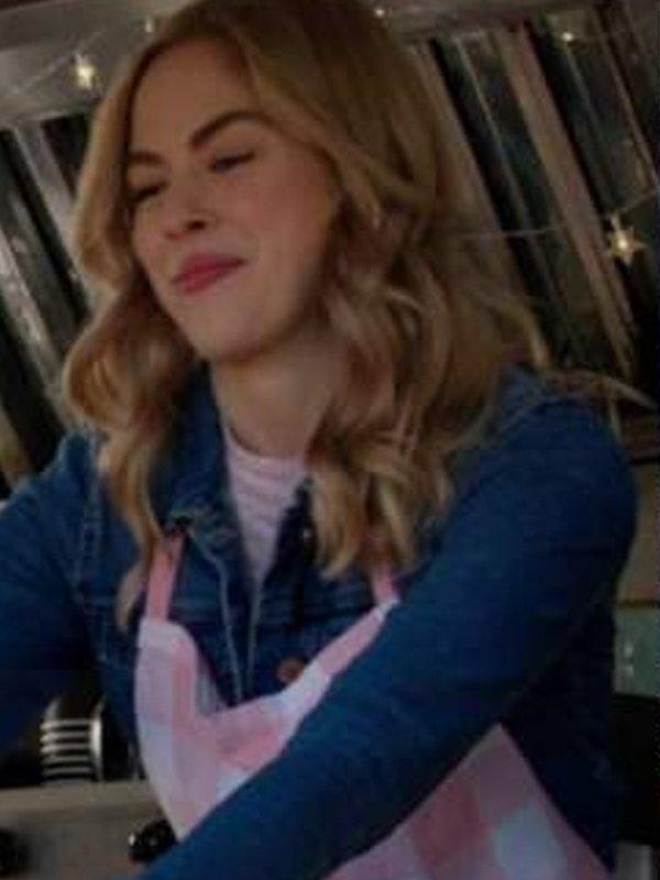 Sarah Dugdale Virgin River Season 3 Blue Denim Jacket