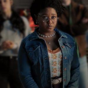 Beth Chapel Stargirl S02 Anjelika Washington Blue Denim Jacket