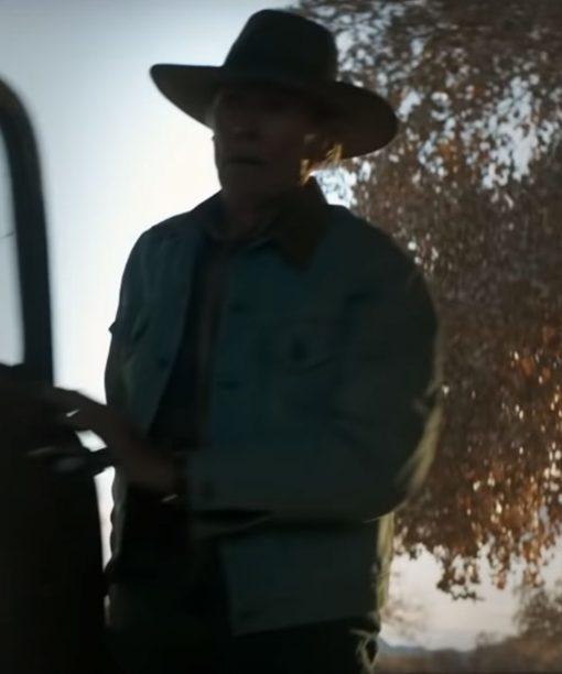 Clint Eastwood Cry Macho 2021 Miko Blue Denim Jacket