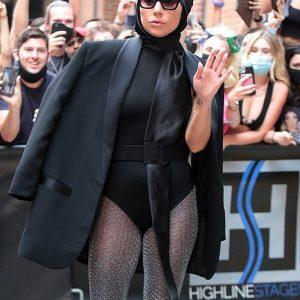 Lady Gaga Black Blazer Lady Gaga Fashion