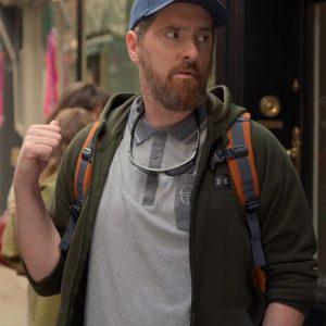 Coach Beard Green Hoodie