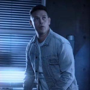 Kevin Alejandro TV Series Lucifer S06 Dan Espinoza Blue Denim Jacket