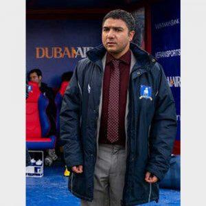 Ted Lasso Season 02 Blue Cotton Coat