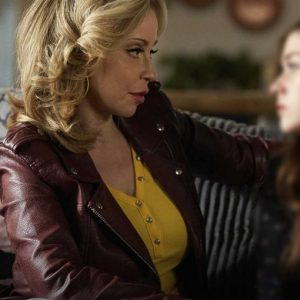 Tara Strong TV Series Pretty Hard Cases Tiggy Sullivan Leather Jacket