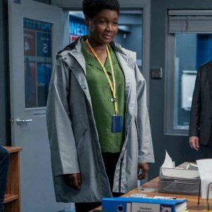 Dr. Sharon Fieldstone TV Series Ted Lasso Season 2 Sarah Niles Grey Cotton Coat
