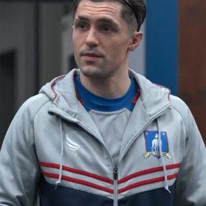 Jamie Tartt Ted lasso Phil Dunster Track Hooded Jacket