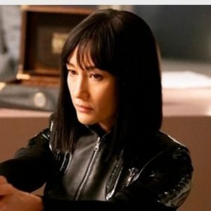 Maggie Q The Protege 2021 Anna Black Leather Jacket