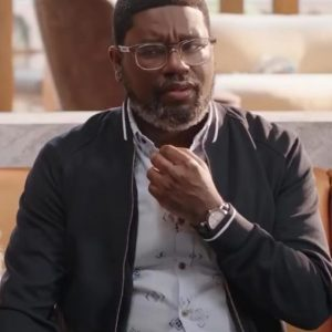 Lil Rel Howery VACATION FRIENDS Marcus Black Bomber Jacket