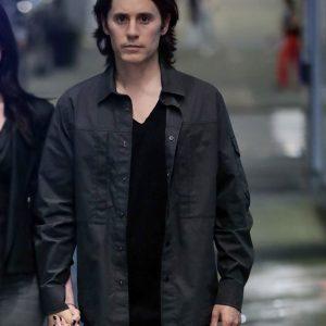 Adam Neumann WeCrashed 2022 Jared Leto Grey Cotton Jacket