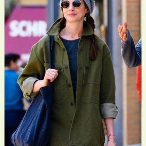 Rebekah Neumann TV Series WeCrashed 2022 Green Cotton Jacket
