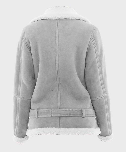 Womens-Grey-Suede-Shearling-Jacket