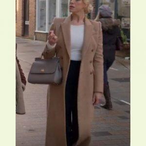 hannah_waddingham_brown_trench_coat