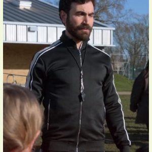 ted_lasso_brett_goldstein_black_jacket_with_striped