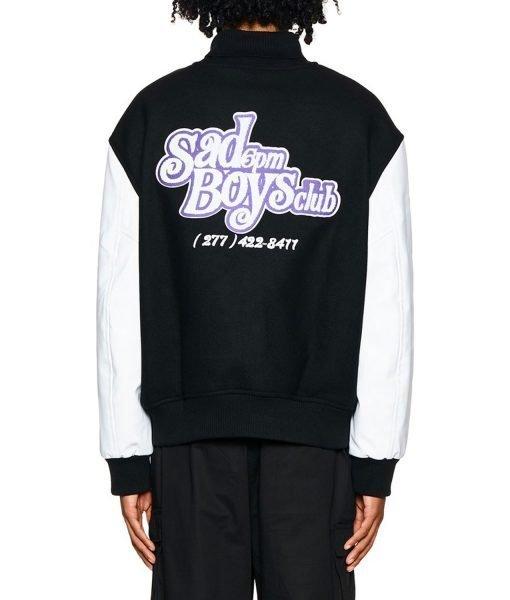 College 6pm Season Letterman Jacket