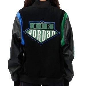 Aleali May Air Jordan Varsity Jacket