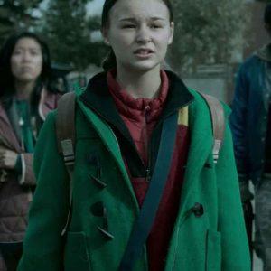 Zoe Marlett Black Summer S02 Anna Green Wool-blend Jacket+