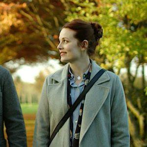 Maggie Grey Wool Coat