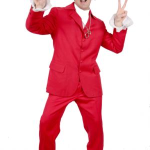 Austin Power Red Suit Las Vegas
