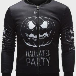 Black Bomber Halloween Party 2021 Jacket