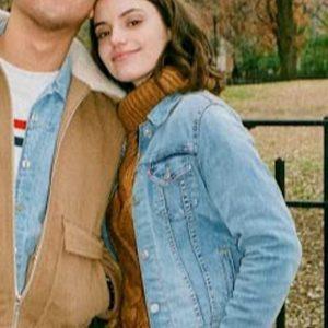Francesca Reale Blue Dating & New York 2021 Wendy Denim Jacket