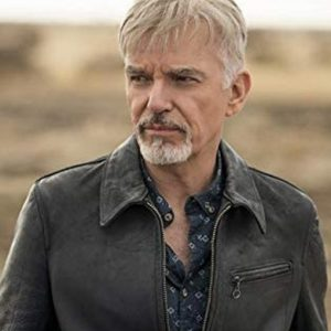 Billy McBride TV Series Goliath Season 4 Black Leather Jacket