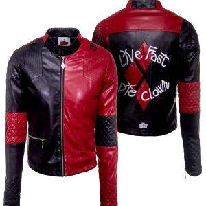 Harley-Quinn-Leather-Jacket