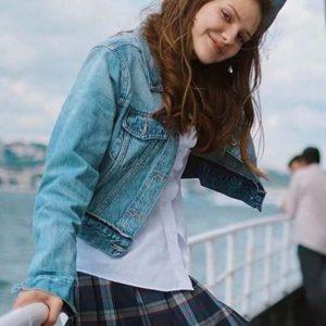 Alina Boz TV Series Love 101 Blue Denim Jacket