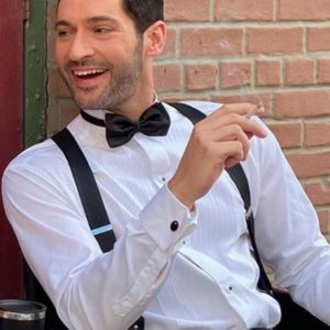 Lucifer Shirt And Bow Tie