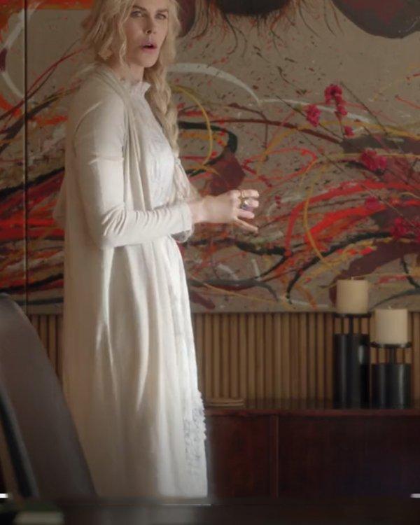 Nine Perfect Strangers Nicole Kidman Long Cardigan