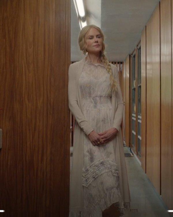 Masha Dmitrichenko Nine Perfect Strangers Nicole Kidman Long Cardigan