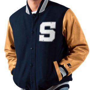 Men's Nittany Lions Penn State Navy Varsity Jacket