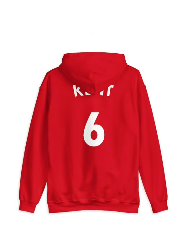 Ted Lasso Roy Kent Hoodie Red F