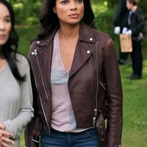 Redemption-in-Cherry-Springs-Rochelle-Aytes-Leather-Jacket