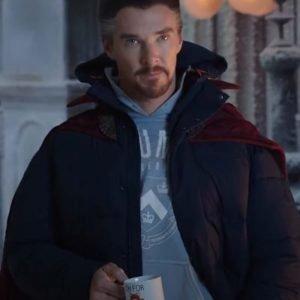 Spider-Man No Way Home Doctor Strange Puffer Jacket