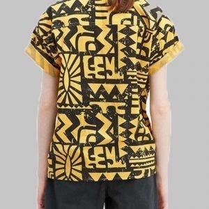 Stranger Things Aztec Yellow Shirt