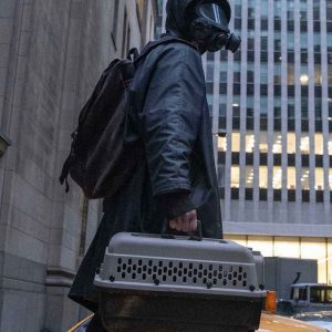 Ben Schnetzer TV Series Y: The Last Man 2021 Yorick Brown Trench Black Coat