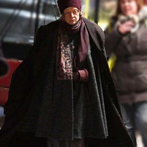 Maggie Smith A Boy Called Christmas 2021 Black Cloak